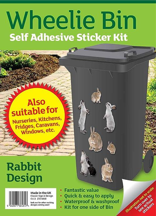 Garden Gnome Bin Stickers