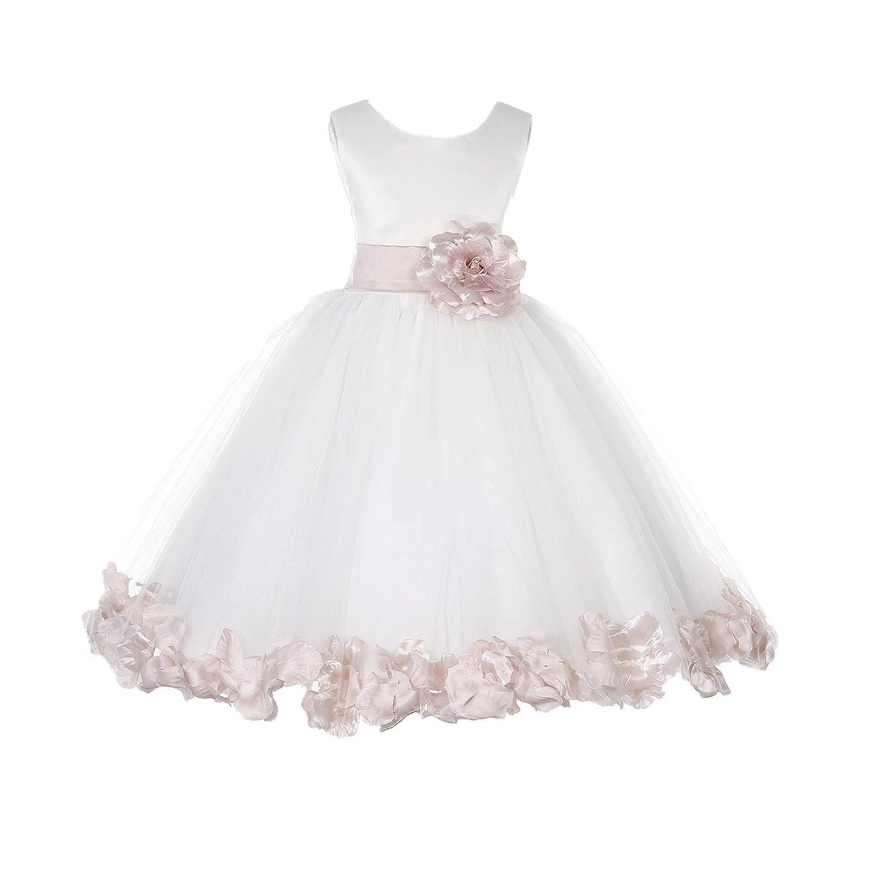 965a18e9e93a Ivory Tulle Flower Girl Dresses - raveitsafe
