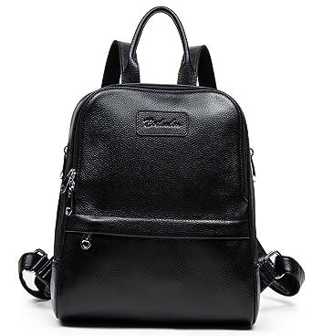 Amazon.com | BOSTANTEN Women Leather Backpack Purse Satchel ...
