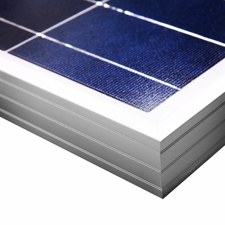 12V 100W Monocrystalline Solar Panel 12V//24V 400W Wind Turbine ECO-WORTHY 12 Volts 500 Watts Wind Solar Kit 24cm Cable for Home
