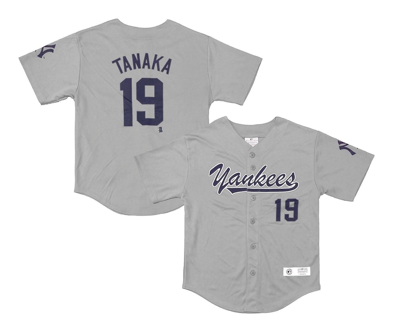 uk availability 30657 bb5d5 Amazon.com: Masahiro Tanaka New York Yankees #19 Gray Youth ...