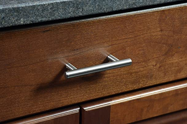 ckp brand 3 in 76mm steel bar pull brushed nickel amazoncom