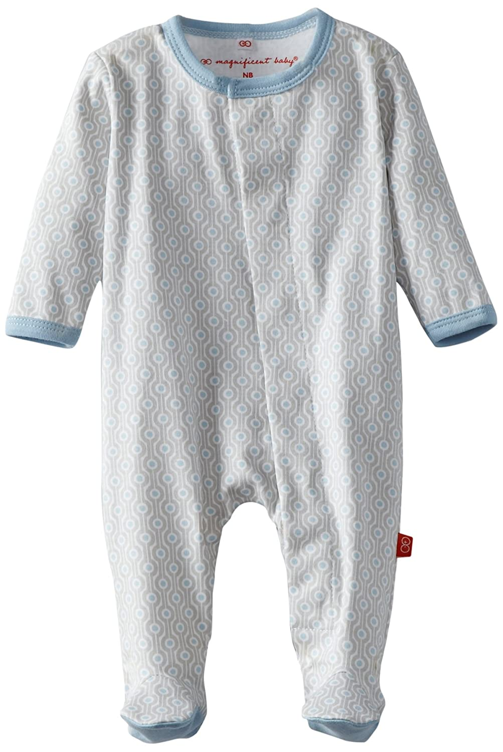 Magnificent Baby Magnetic Baby Boys Cotton Footie