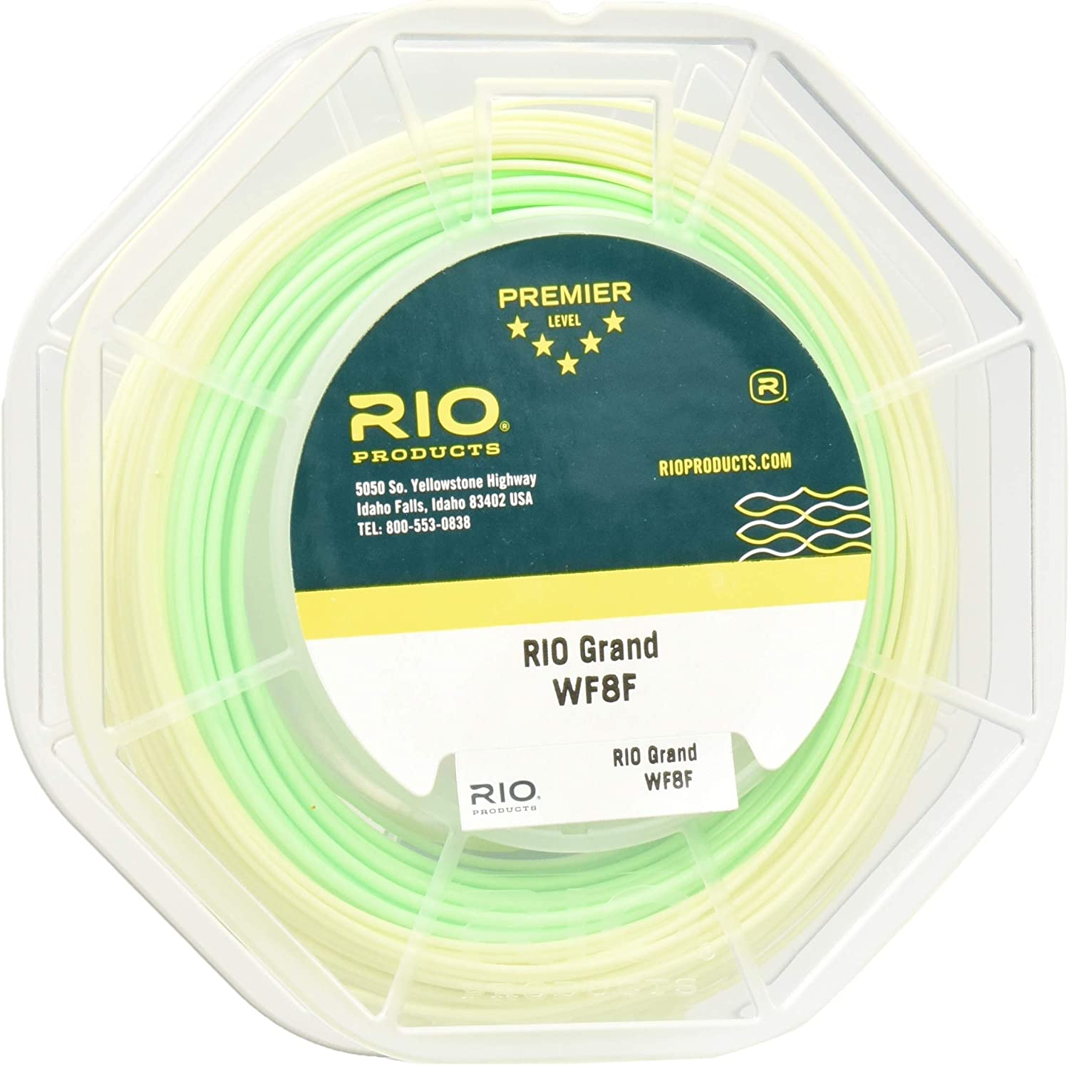 RIO Products Fly Line Rio Grand Wf4F Pale Green/Lt. Yellow, Pale-Green-Lt.-Yellow
