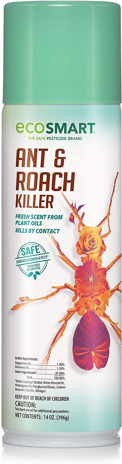 Amazon Com Ecosmart Ant And Roach Killer 14 Oz Aerosol Spray Can Insect Repellents Garden Outdoor