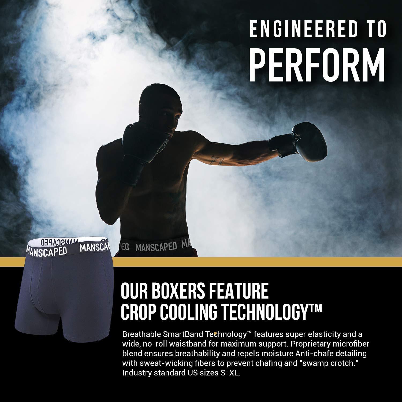 Amazon.com: Calzoncillos deportivos para hombre, fibras ...