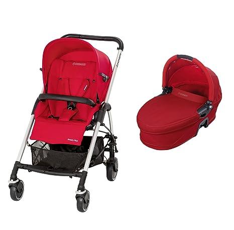 Maxi-Cosi 19883860 Streety Plus Set - Carrito convertible con capazo y silla de paseo