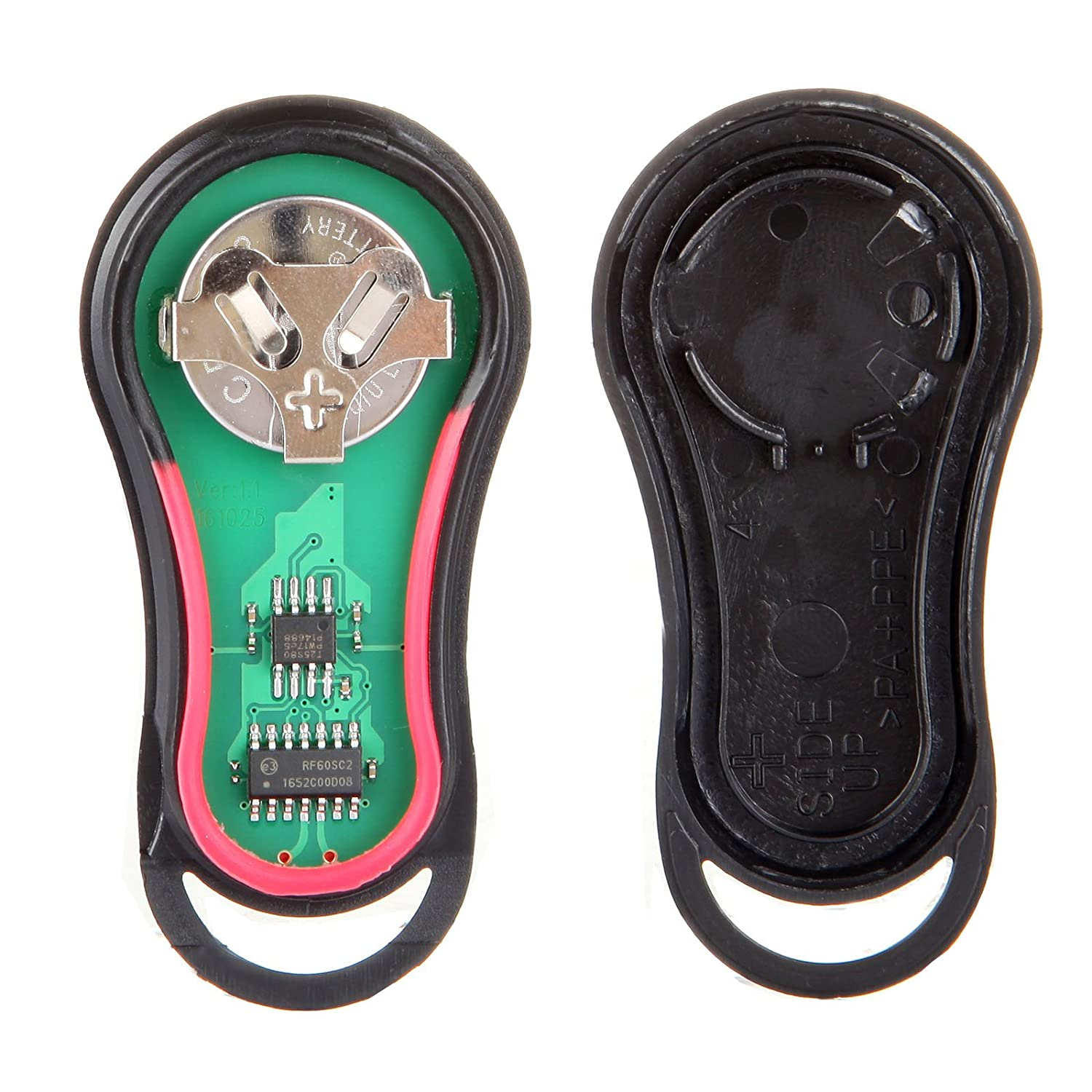 SCITOO Compatible fit for 1X Keyless Entry Remote Car Key Fob 3 Buttons Replacement Plymouth Dodge Chrysler Series GQ43VT17T 057210-5206-1834349961