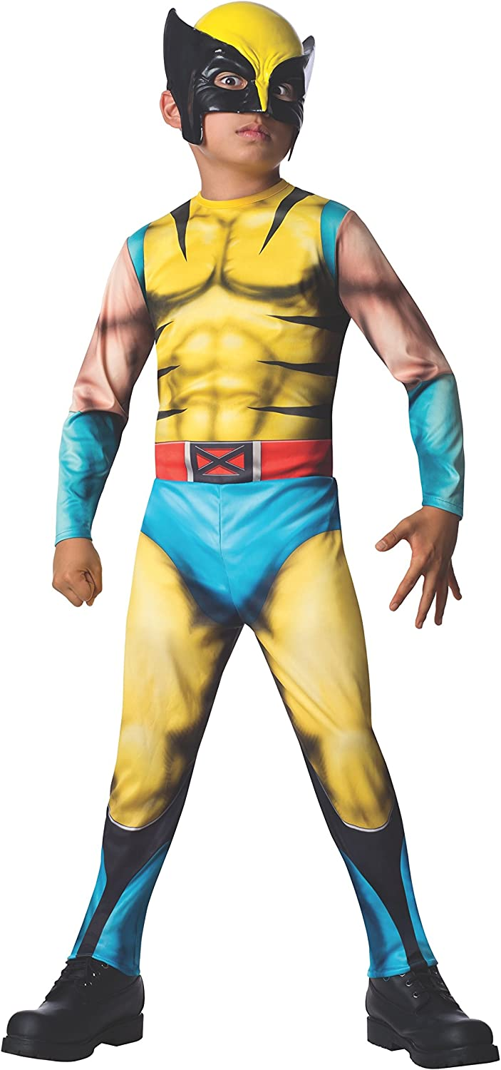 Rubies Marvel Universe Classic Collection Wolverine Costume, Child ...