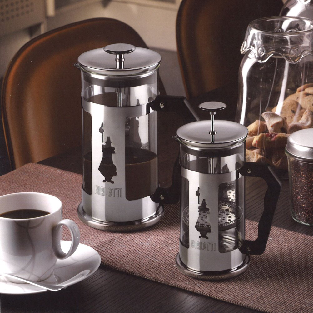 Bed bath beyond french press - Amazon Com Bialetti 6860 Preziosa Stainless Steel 3 Cup French Press Coffee Maker Silver Stovetop Espresso Pots Kitchen Dining