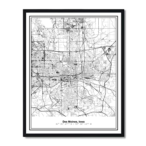 Amazon.com: Susie Arts 11X14 Unframed Des Moines Iowa ... on vancouver city map, wright county city map, okemah city map, dumas city map, duvall city map, bainbridge island city map, fife city map, pierre city map, newton city map, ferguson city map, council bluffs city limits map, grimes city map, lowell city map, clive city map, black hawk city map, st. louis city map, indianapolis city map, tulsa city map, minneapolis st paul city map, el paso city map,