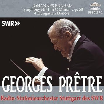 SSS0197 ブラームス:交響曲第1番、ハンガリー舞曲(4曲) プレートル(指揮) シュトゥットガルト放送交響楽団