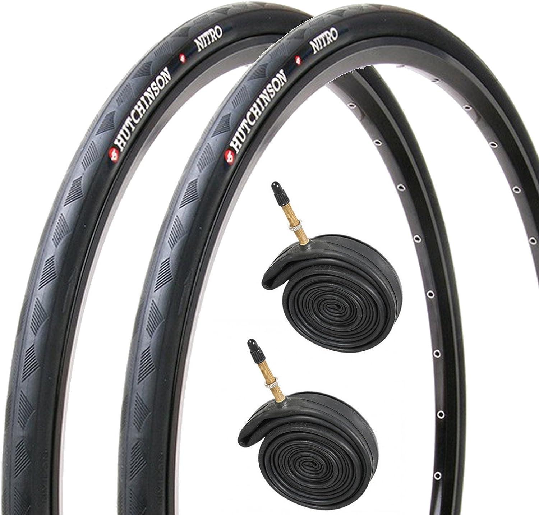 pair Impac By Schwalbe Racepac Road Bike Cycle Tyre in Black 700 x 25mm x 2