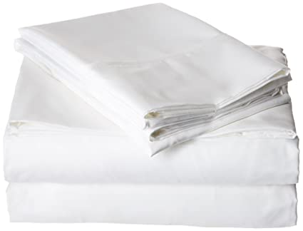 Sleep Soft Bed Sheet Set   The Softest Bed Sheets On Earth (Queen, White