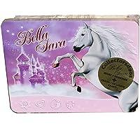 Bella Sara Trading Cards metalen doos met 7 boosters van 5 kaarten + 2 exclusieve kaarten
