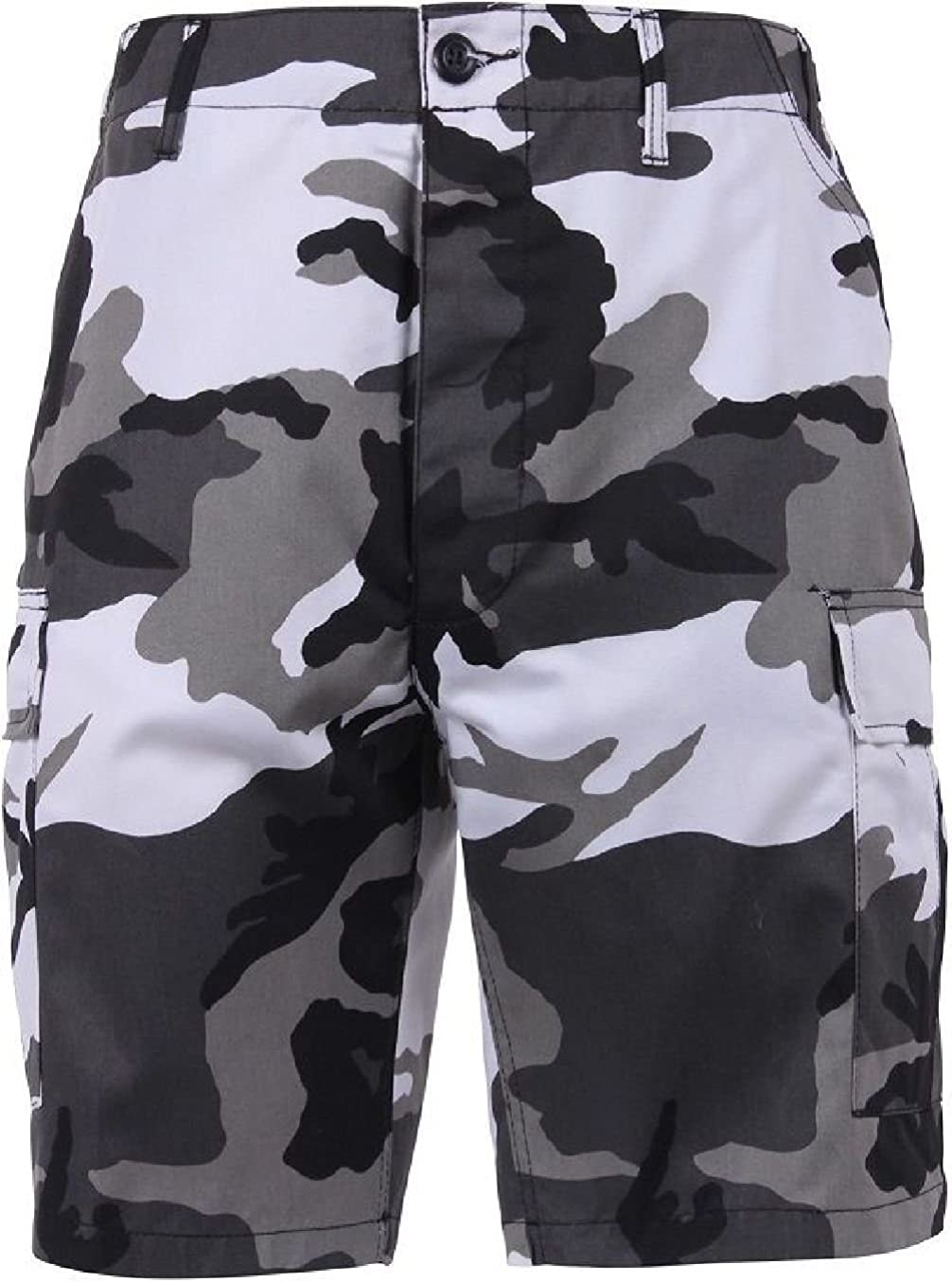 Bellawjace Clothing City Digital Camouflage Military BDU Combat Cargo Camo Army Shorts