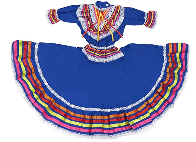 Amazoncom étnico Identidad Niñas Mexicano Vestido Vestido