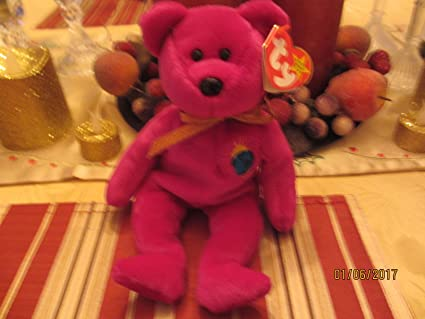Amazon.com   Rare MILLENNIUM Beanie Baby with RareTag Errors 7cd40962f78