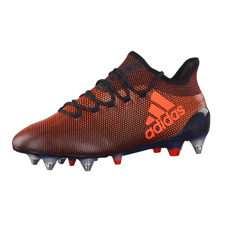 noir (Negbas Rojsol Narsol) 44 2 3 EU adidas X 17.1 SG, Chaussures de Football Homme