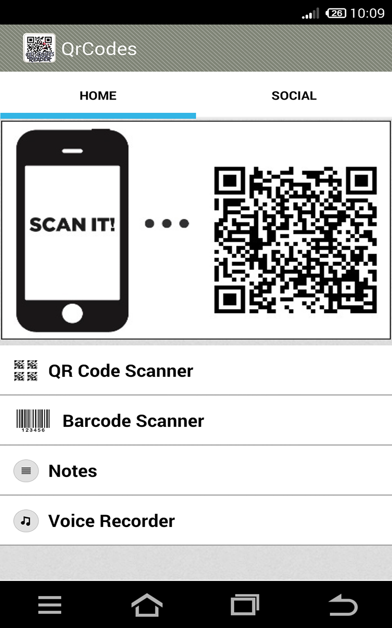 QR Code Scanner and Barcode Scanner: Amazon.com.br: Amazon