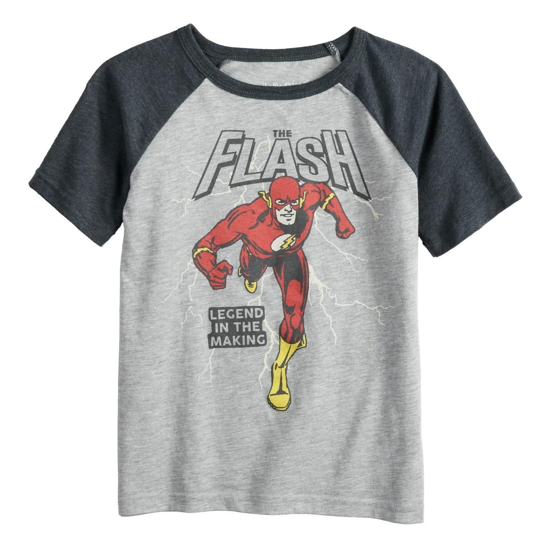 Jumping Beans Little Boys' 4-12 Running Flash Tee
