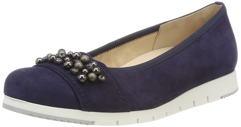 Gabor Shoes Femme Comfort Sport, Ballerines Femme Shoes 39 EU|Bleu (Bluette) 079e06