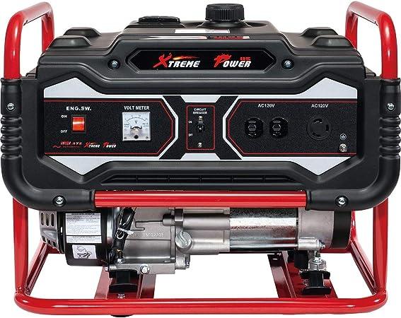 Amazon.com: XtremepowerUS Generador de gasolina de 4000 ...