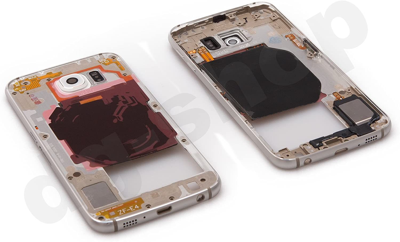 Original Samsung Galaxy S6 sm-g920 F Plata Marco central ...