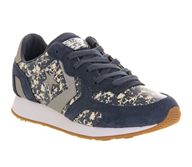 964b920d9cf7 Converse Premium Auckland Racer Navy Tonal Floral 3m Exclusive - 7 UK   Amazon.co.uk  Shoes   Bags