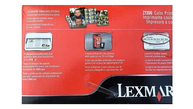 Amazon.com: Lexmark Z1300 Impresora de inyección de tinta ...