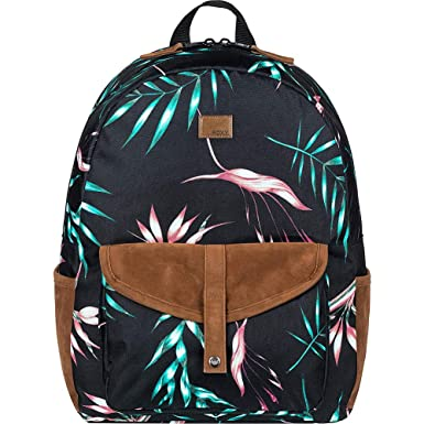 Roxy Womens Carribean Backpack One Size Anthracite Stormy bf75bd763cd31