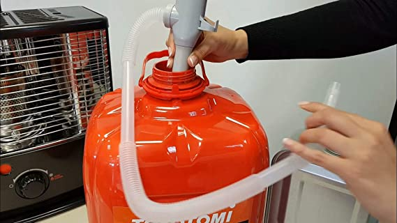 Toyotomi 1 Bidón isoparafina Clear 20 litros, Rojo: Amazon ...