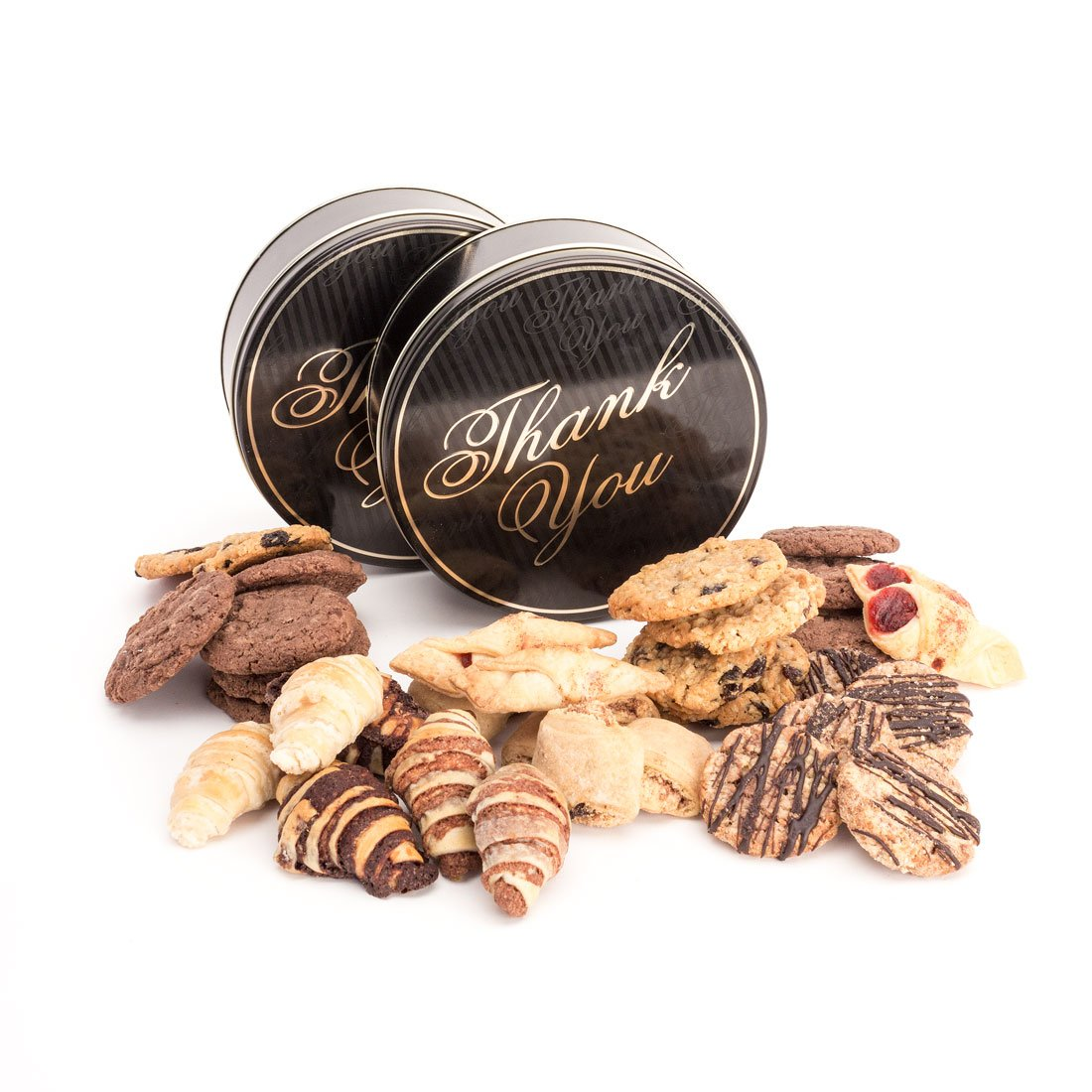 Say ''Thank You'' with Cookies | 2 Pounds of Assorted Cookies and Rugelach | Gimmee Jimmy's Cookies