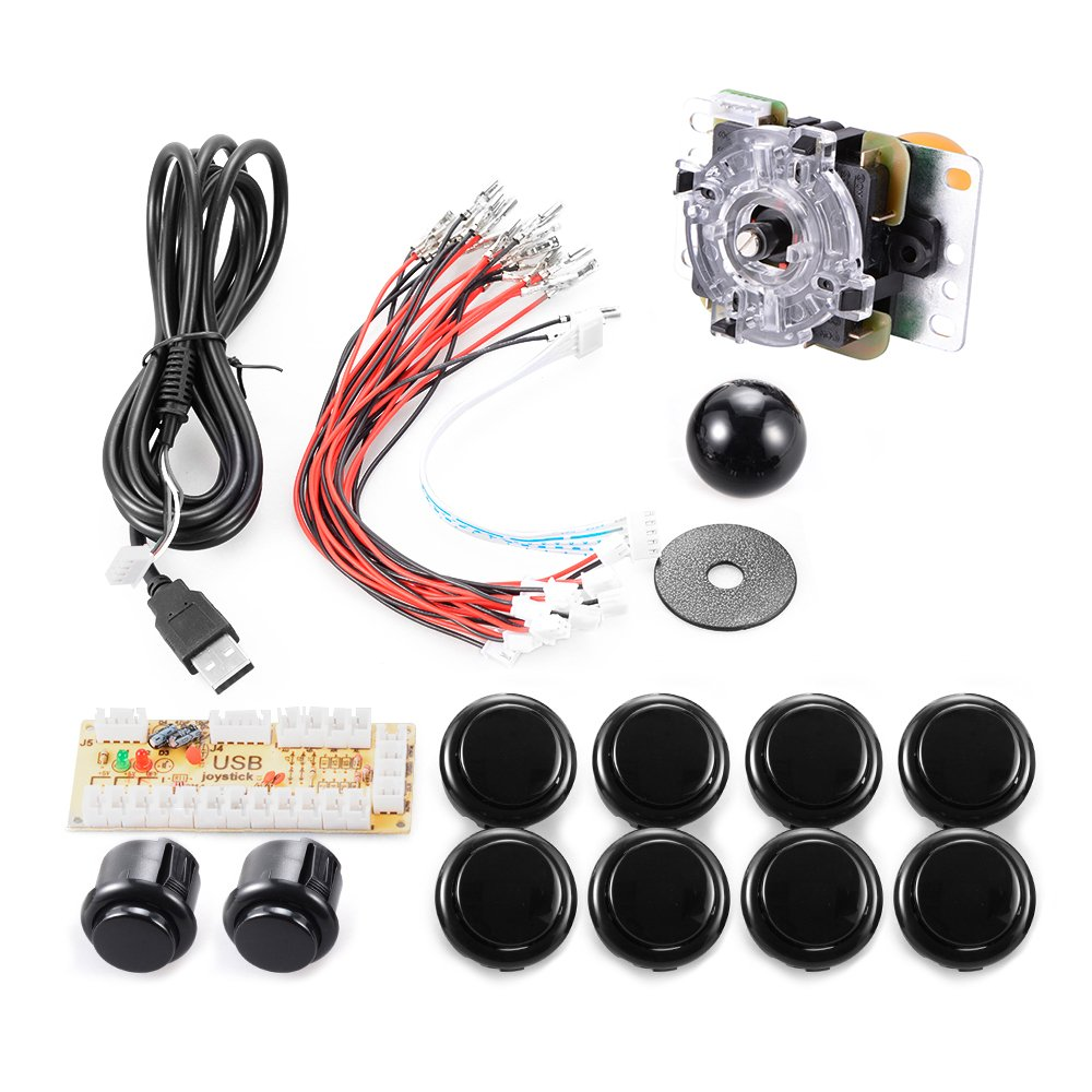 Xcsource Zero Delay Arcade Game Usb Encoder Pc Joystick Sanwa Wiring Diagram Diy Kit For Mame Jamma Other Fighting Games Ac426 Toys