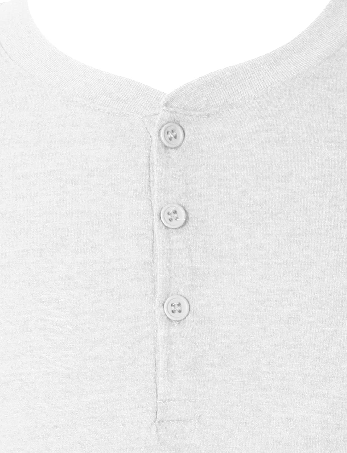 7cd101618eb LE3NO Premium Mens Tri-Blend Short Sleeve Henley Shirt With Button Placket  at Amazon Men s Clothing store