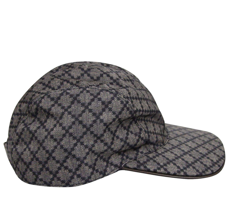 Amazon.com  Gucci Unisex Diamante Blue Nylon Baseball Hat with Trademark  Logo 268897 4079 (XL)  Clothing 532d59e61bb
