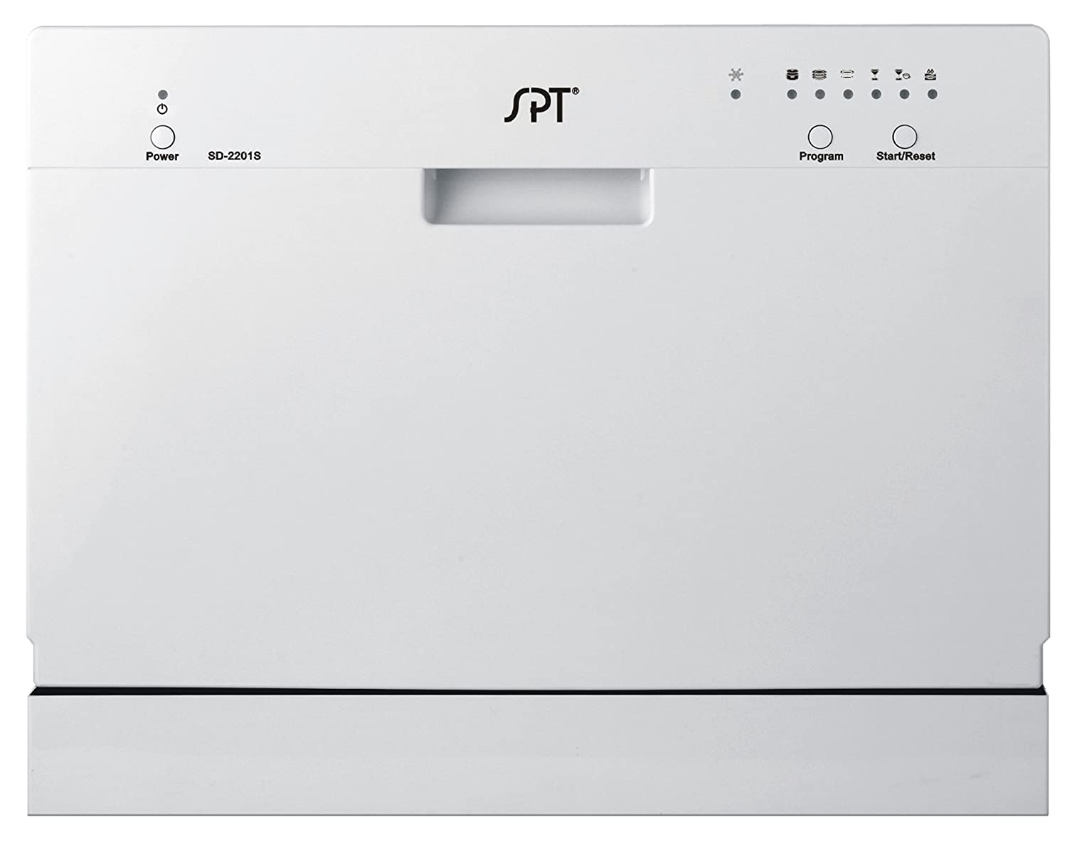 SPT Countertop Dishwasher, White SPT Appliance SD-2201W