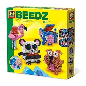 SES Creative Beedz - Cuentas para Planchar de Cajas de Animales en ...