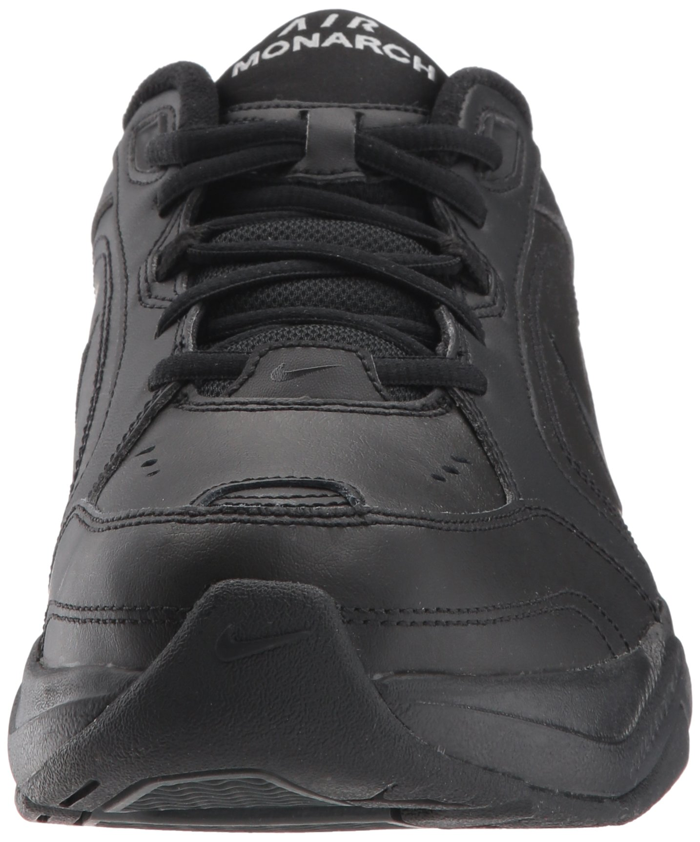 NIKE AIR MONARCH IV (MENS) - 6 Black/Black by Nike (Image #4)