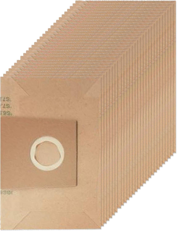 Spares2go - Bolsas de polvo tipo H para aspiradora Siemens (28 + 4 ...