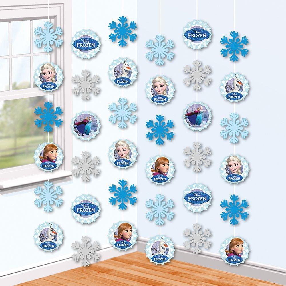 Disney Frozen 6 Guirlande Verticale La Reine des Neiges Chambre D/écoration