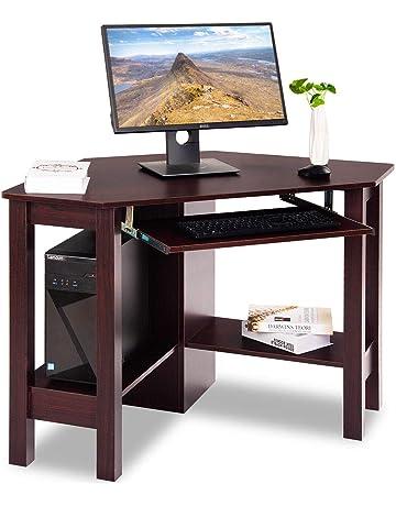 Big Pc Desk White Glossy Desk