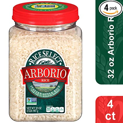 Tarros de arroz de Arborio RiceSelect: Amazon.com: Grocery ...