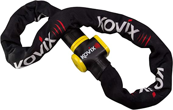 Kcl10 120 Kovix 10mm X 1200mm Alarmed Chain Sport Freizeit