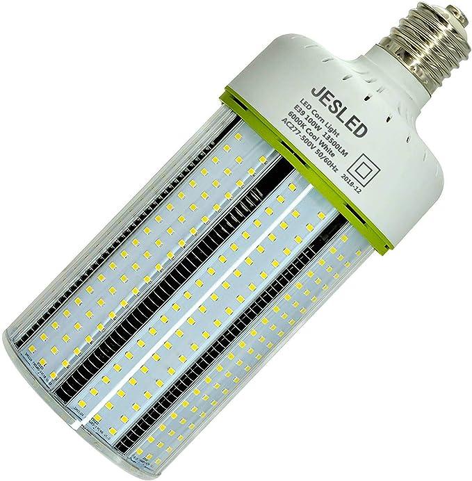 40 W DEL Corn Light-Remplace 150 W Halogénure Métallique fils GES E40 culot 6000k lumiere du jour
