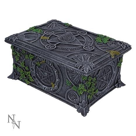 Nemesis Now – gris caja de Wiccan pentagrama Tarot – 17 ...