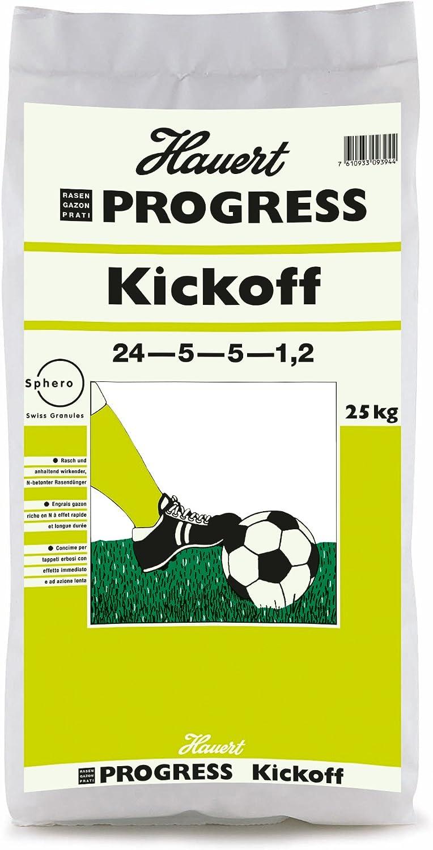 Hauert HBG D/ünger 104625 Progress Kickoff Rasend/ünger 25 kg f/ür 1000 m/²