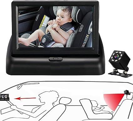 Itomoro Baby Car Mirror - The Best Camera System