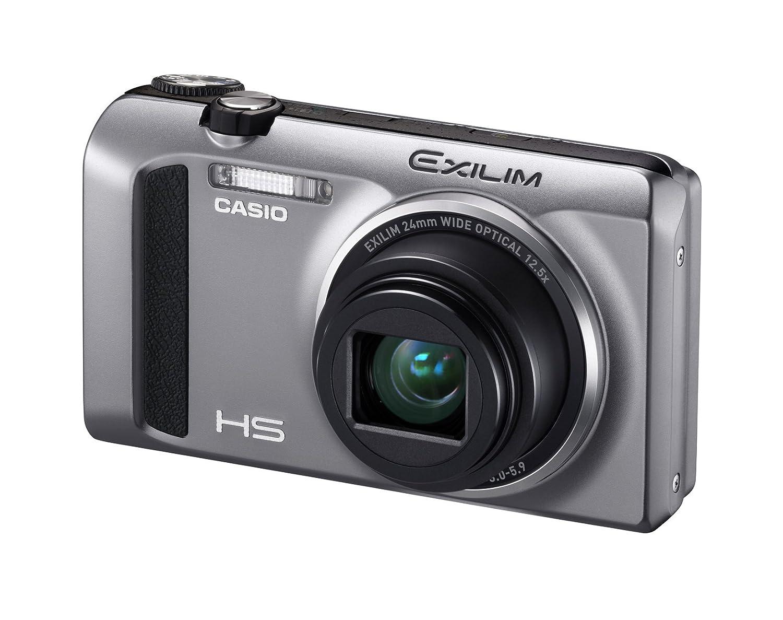 CASIO EXILIM デジタルカメラ ハイスピード 1610万画素 広角24mm 光学12.5倍ズーム シルバーEX-ZR400SR  シルバー B00B7D7P2K