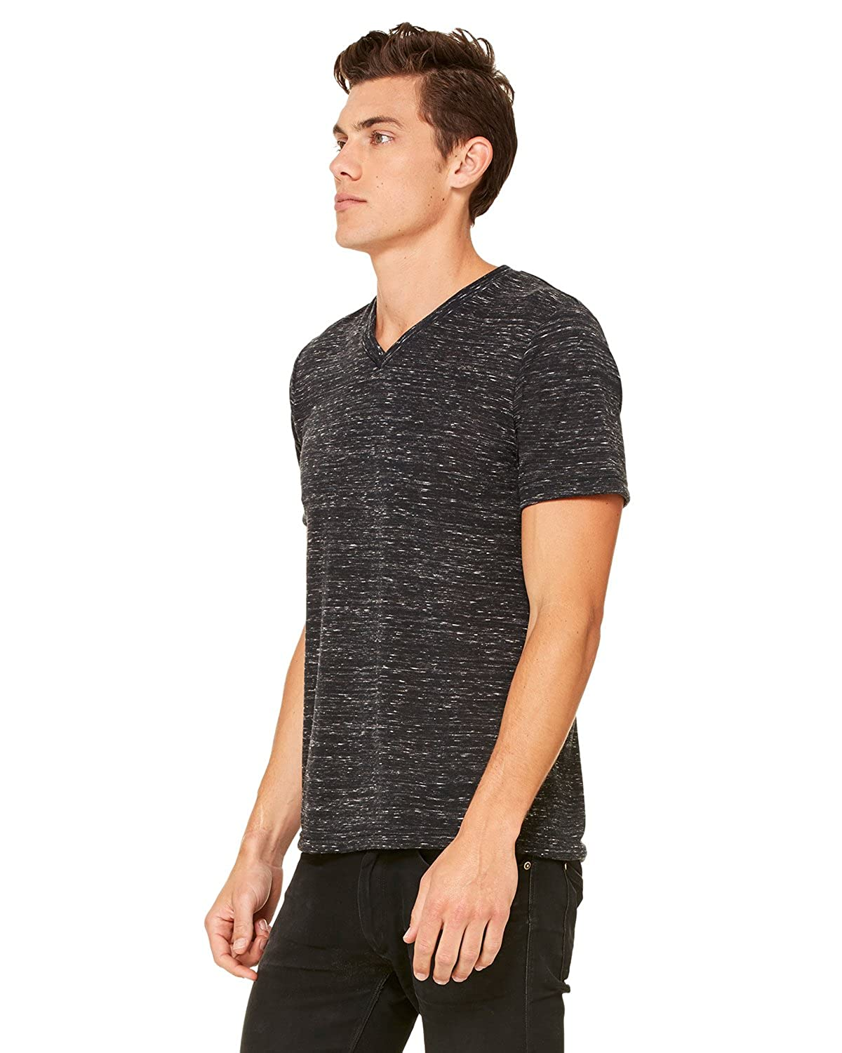 Bella Canvas Comfortable V-Neck Soft Fitted Jersey T-Shirt